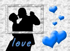 Free Love Kiss Royalty Free Stock Photography - 5211937