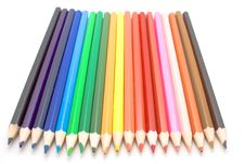 Free Different Color Pencils Royalty Free Stock Photography - 5211987