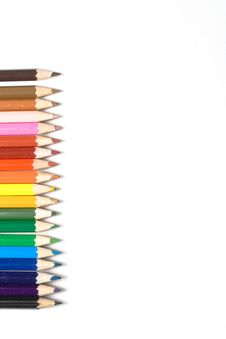 Free Different Color Pencils Stock Photo - 5211990