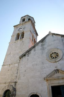 Free Old Church In Cavtat Stock Image - 5212331