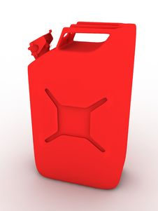 Free 3D Fuel Container Stock Photo - 5212420