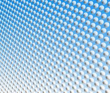 Free White Spots On Blue Royalty Free Stock Photography - 5212677
