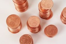 Free European Coins, Eurocent Royalty Free Stock Photo - 5213225