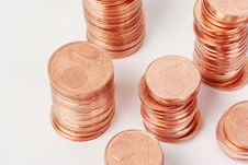 Free European Coins, Eurocent Royalty Free Stock Photo - 5213265