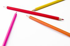 Free Colorful Pencils Stock Images - 5213834