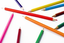 Free Colorful Pencils Stock Photo - 5213840