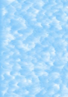 Fluffy Clouds Stock Photos