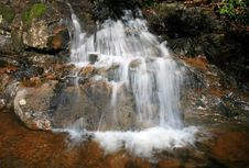Free Laurel Falls In The Smoky Mountains NP Stock Images - 5214024