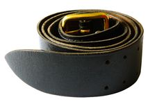 Free Stranded Army Leather Belt. Royalty Free Stock Images - 5214049