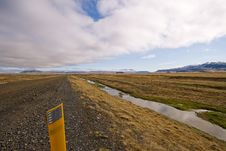 Free Gravel Road In Iceland Royalty Free Stock Image - 5214956