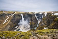 Free Waterfall In Iceland Royalty Free Stock Photos - 5214968