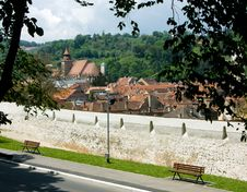 Brasov City, Transylvania Stock Images
