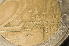 Free Two Euro Royalty Free Stock Photos - 5215858