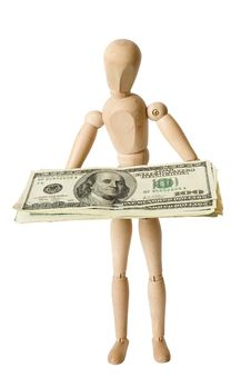 Free Figure,dollars,one Stock Photography - 5215902