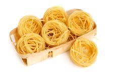 Uncooked Macaroni Stock Image