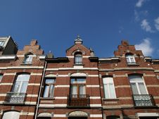 Houses At Amsterdam Royalty Free Stock Image