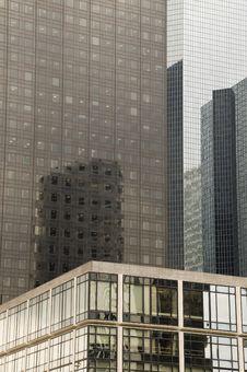 Reflecting Skyscrapers Stock Photos