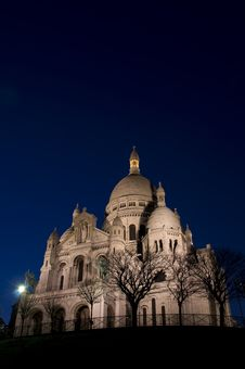 Free Sacre Coeur, Paris Royalty Free Stock Photo - 5217835