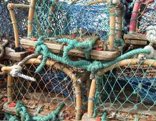 Free Lobster Pots Stock Photos - 5217873