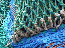 Free Fishing Nets Royalty Free Stock Image - 5218656