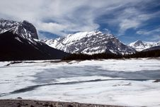 Free Kananaskis Country, Upper Lake Royalty Free Stock Photography - 5218687