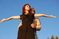 Free Girl And Man Stock Photos - 5218763