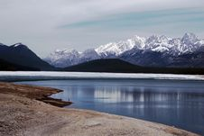 Free Kananaskis Lake In May Royalty Free Stock Image - 5218826