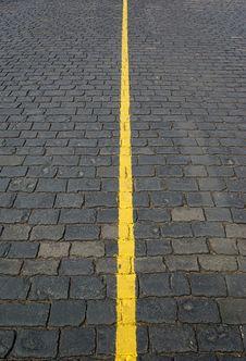 Free Brick Road 3 Royalty Free Stock Photography - 5218997