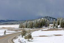 Free Montana Road Stock Image - 5219121