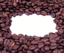 Free Coffee Beans Frame Stock Photography - 5219322