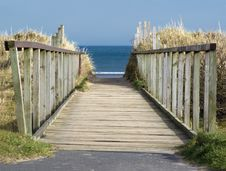 Free Beach Path Stock Images - 5219824