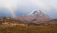 Free Scottish Rainbow Royalty Free Stock Image - 5219906