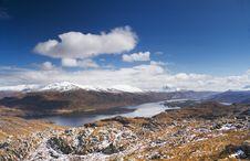 Free Loch Maree Royalty Free Stock Photo - 5219925