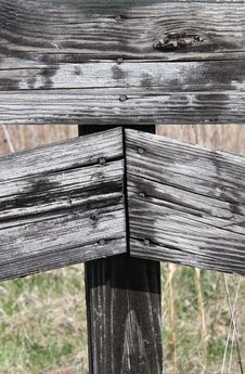 Free Country Fence Repurposed Wood Close Up Royalty Free Stock Photo - 52144465
