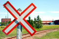 Free Railroad Crossing Stock Photo - 5220140