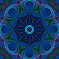Free Blue Compass Mandala Royalty Free Stock Photography - 5227527
