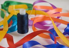Free Needle And A Thread Closeup Royalty Free Stock Image - 5220056