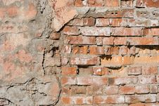 Free Brick Wall Royalty Free Stock Photo - 5220375