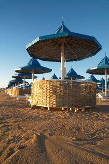 Free Beach Parasols Stock Photos - 5220783