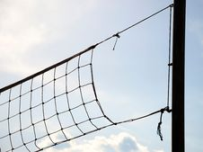 Free Volleyball Net Stock Images - 5221314