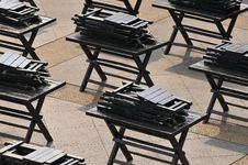 Free Symmetry In Chairs And Tables Stock Photo - 5221330
