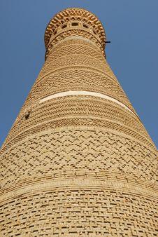 Free The Minaret Kaljan Royalty Free Stock Photos - 5221378