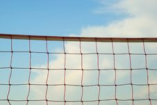 Free Volleyball Net Royalty Free Stock Photos - 5221398