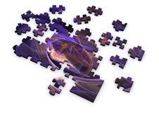 Free Fractal Puzzle Royalty Free Stock Images - 5221729