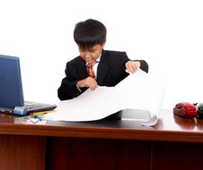 Free Unhappy Young Businessman Royalty Free Stock Photos - 5221998