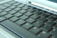 Free Laptop Keyboard Royalty Free Stock Photography - 5222157