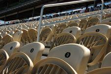 Free Stadium Seats Royalty Free Stock Images - 5222369