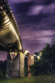 Bridge In Singapore : Henderson Waves Stock Photos