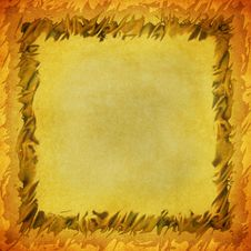 Free Grungy Background With Abstract Frame Stock Image - 5222511