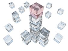 Free Ice Cube Tower Stock Photos - 5222563
